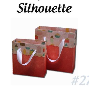 Arquivo Silhouette - Caixa Sacola