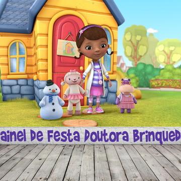 Painel de Festa Doutora Brinquedos