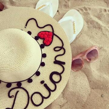 Chapeu de Praia Personalizado  0e720263353