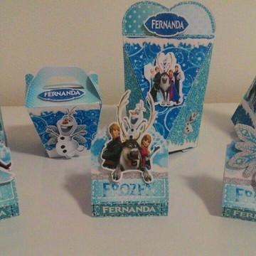 Kit Frozen 50 peças