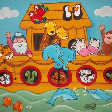 Painel Festa Arca de Noé 150x100M