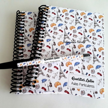 Caderno Escola de Frânces