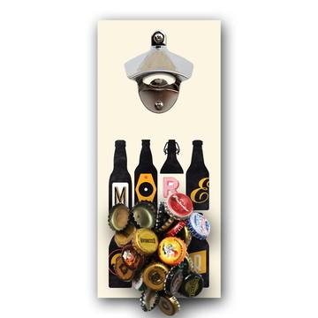 Abridor de garrafa imantado decoração