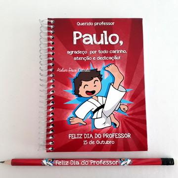 Caderno Dia dos Professores - Karatê / Judô