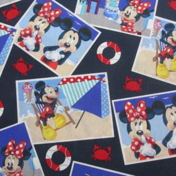Tecidinho Importado Mickey e Minnie