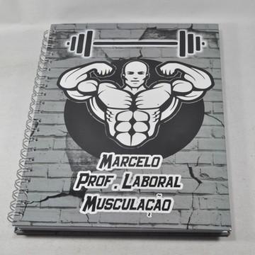 Caderno Personalizado - Profissões - Musculação
