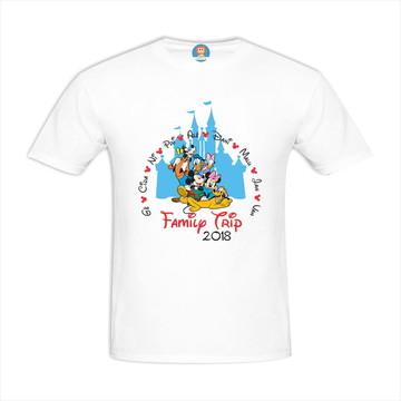 Camiseta Viagem Disney Orlando