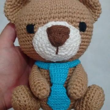 Urso de Crochet - Amigurumi