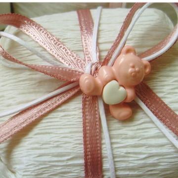 Bem Nascido Ursinho Rosa