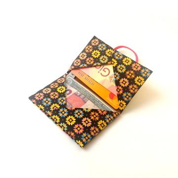 Mini Carteira - Floral Color 3