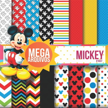 #1037 - Papel digital Mickey