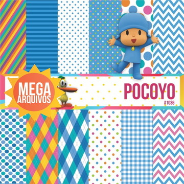 #1036- Papel digital Pocoyo