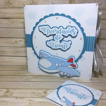 Recordações do bebê + Álbum Dental Avião