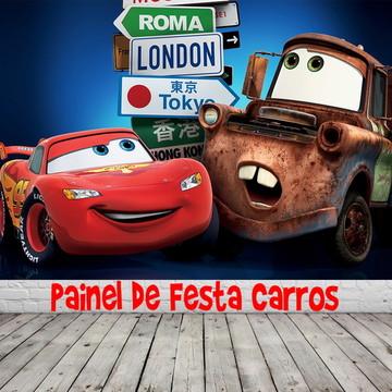 Painel de Festa Carros da Disney