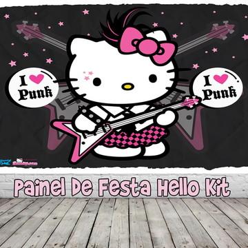 Painel de Festa Hello Kitty