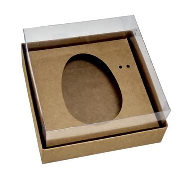 Caixa Ovo de Colher 100g/150g Kraft