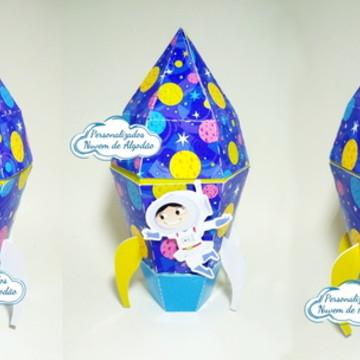 Caixa Foguete - Show da Luna