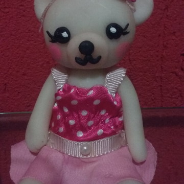 Biscuit Urso Rosa