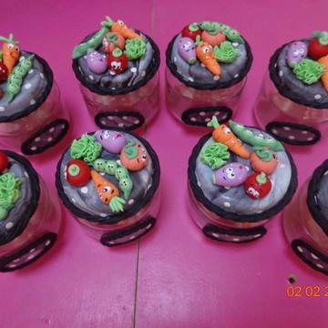 vidrinhos de temperos biscuit legumes