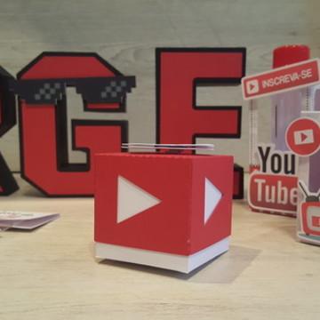 Caixinha Cubo Youtube
