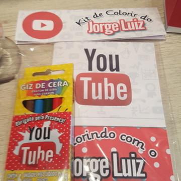 Mini Kit de Colorir Youtube