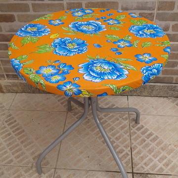 toalha festa para mesa redonda