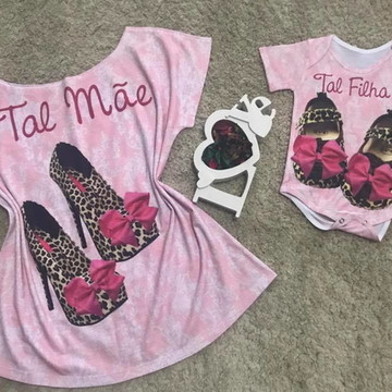 Camiseta Mãe e Filha