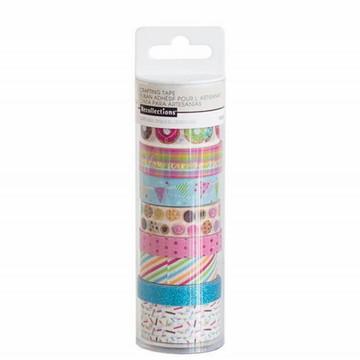 Tubo Medio de Washi Tape