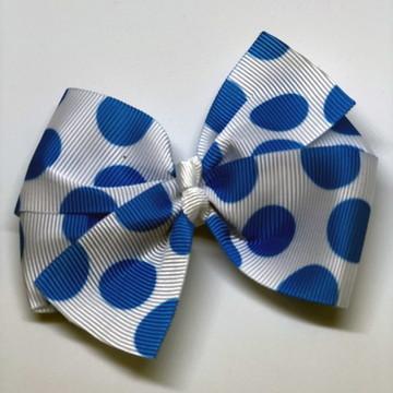 Laço Poá Azul