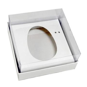 Caixa Ovo de Colher 100g/150g Branca