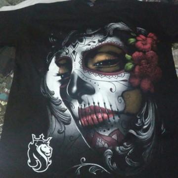 Camisa Camiseta Masculina estampada