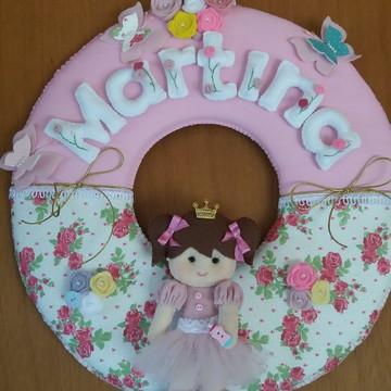Guirlanda princesa