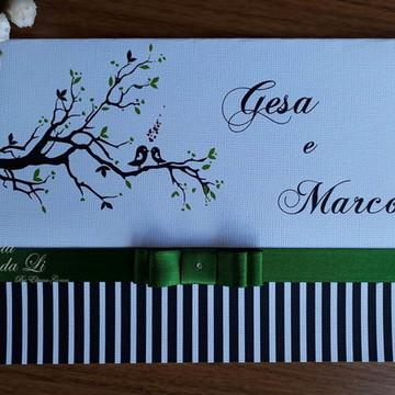 PROMOÇÃO Convite/15 anos/ Casamento/ Verde