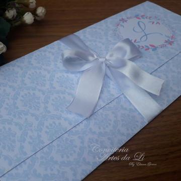 Convite /Casamento/15 Anos Branco