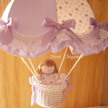 Lustre Infantil - Lavável !!! Paraquedas