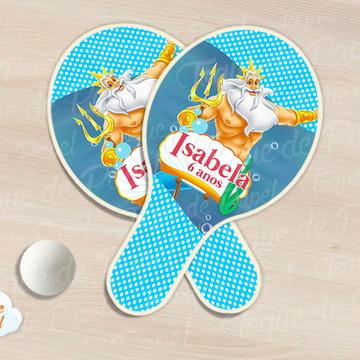 Kit Ping Pong raquete ariel