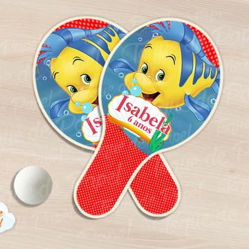 Kit Ping Pong raquete linguado ariel