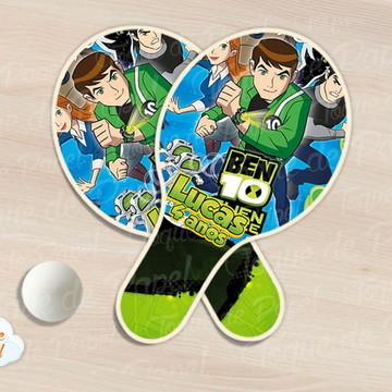 Raquete de ping pong ben 10