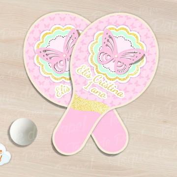 Raquete de ping pong borboletas