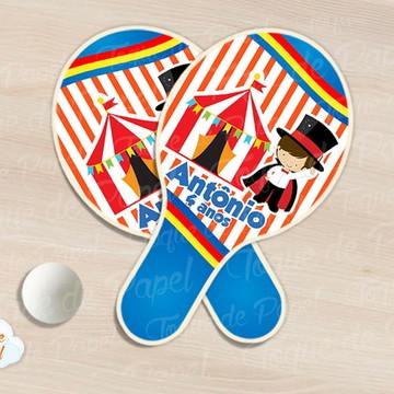 Raquete de ping pong Circo