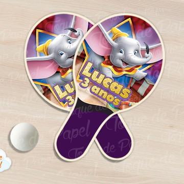 Raquete de ping pong dumbo