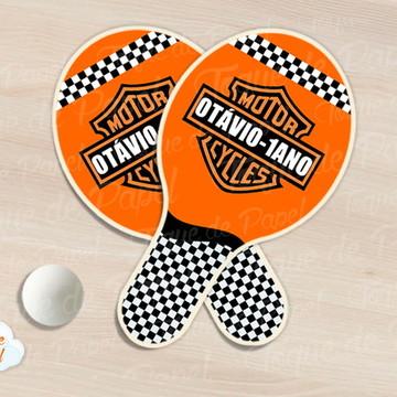 Raquete de ping pong harle.y davidson
