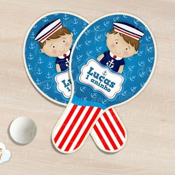 Raquete de ping pong marinheiro