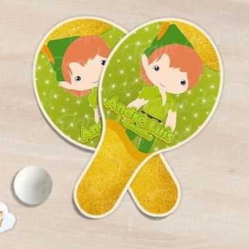 Raquete de ping pong peter pan cute