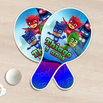 Raquete de ping pong Pj Masks