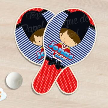 Raquete de ping pong soldadinho de chumbo