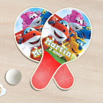 Raquete de ping pong super wings