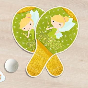 Raquete de ping pong tinkerbell cute
