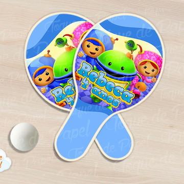 Raquete de ping pong umizoomi