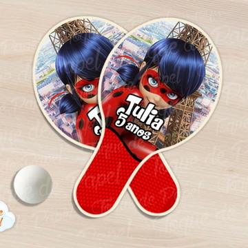 Raquete de ping pong ladybug